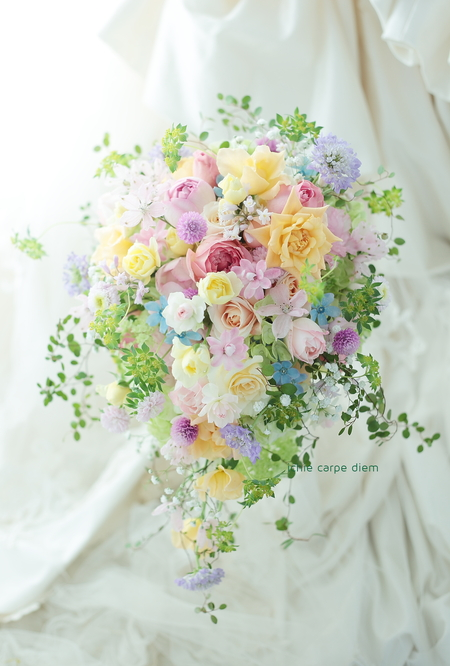 一年目のギフト、旦那様から奥様へ 八芳園の花婿花嫁さまより_a0042928_21285492.jpg
