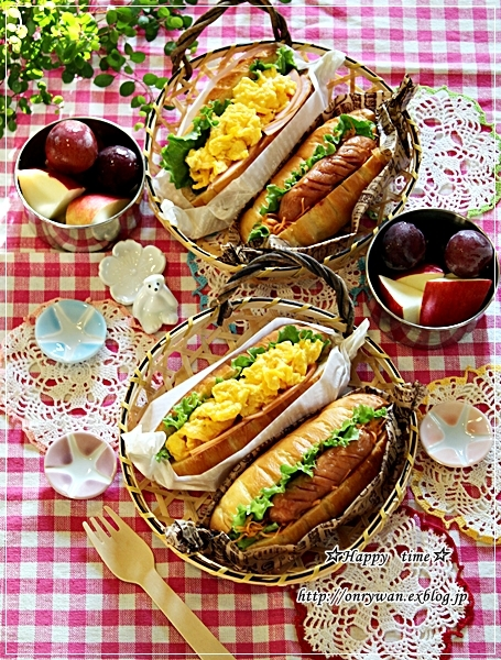 パン・ヴィエノワでサンド弁当と♪_f0348032_17445277.jpg
