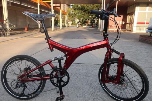 ルイガノJEDI(折り畳み自転車)が入荷しました!_b0332867_22582295.jpg