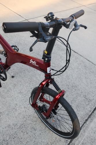 ルイガノJEDI(折り畳み自転車)が入荷しました!_b0332867_23255358.jpg
