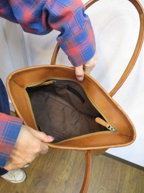 アンパサンド Ampersand round tote bag S  NO:0217-321 ☆_e0076692_14172817.jpg