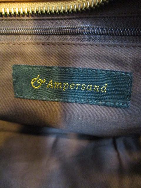 アンパサンド Ampersand round tote bag S  NO:0217-321 ☆_e0076692_14173178.jpg