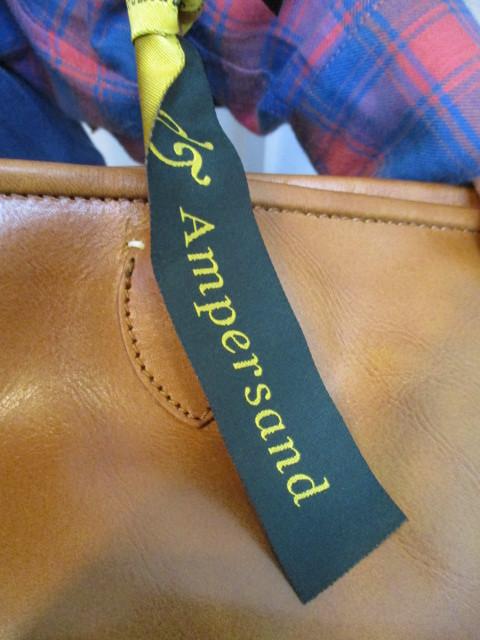 アンパサンド Ampersand round tote bag S  NO:0217-321 ☆_e0076692_14173707.jpg
