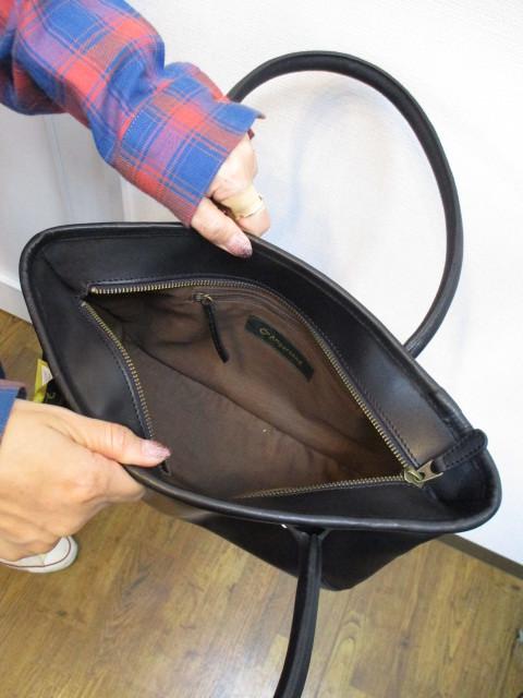 アンパサンド Ampersand round tote bag S  NO:0217-321 ☆_e0076692_14175765.jpg