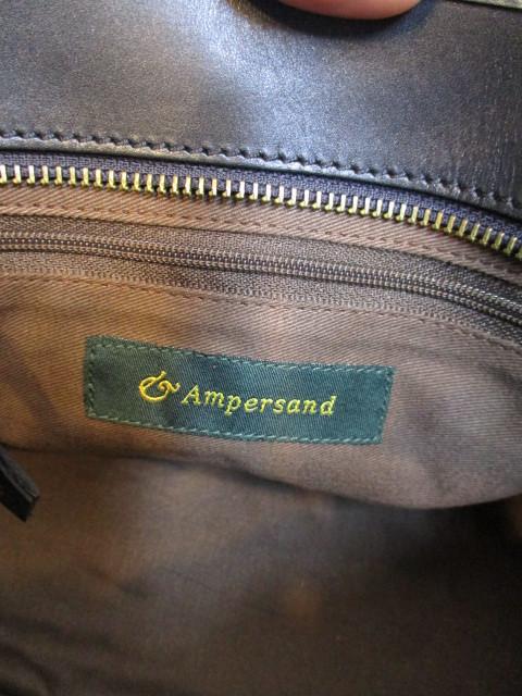 アンパサンド Ampersand round tote bag S  NO:0217-321 ☆_e0076692_14180103.jpg