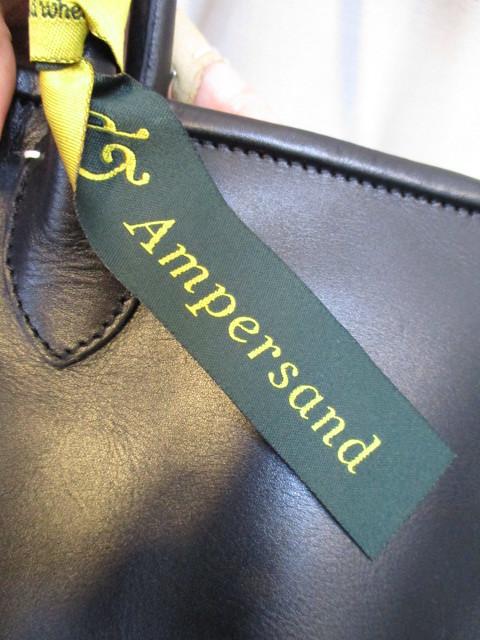アンパサンド Ampersand round tote bag S  NO:0217-321 ☆_e0076692_14182882.jpg