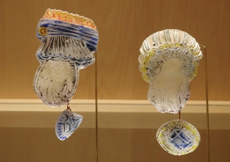 夏の終わりに東京アート散策 大室桃生さんの展示 編_f0351305_23184124.jpeg
