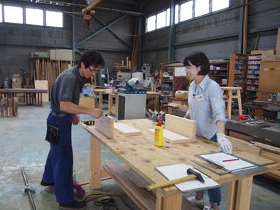 DIY学校上級コース『スツール』完成!!_b0211845_10554004.jpg