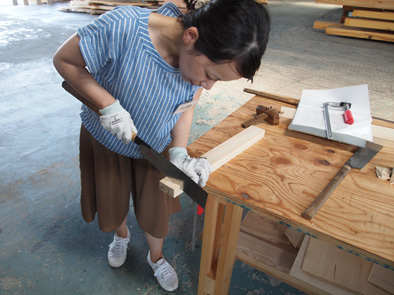 DIY学校上級コース『スツール』完成!!_b0211845_10554050.jpg