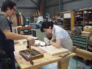 DIY学校上級コース『スツール』完成!!_b0211845_10554092.jpg