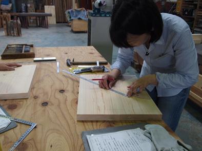 DIY学校上級コース『スツール』完成!!_b0211845_10554193.jpg