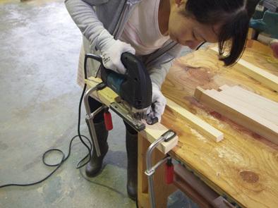 DIY学校上級コース『スツール』完成!!_b0211845_10580926.jpg
