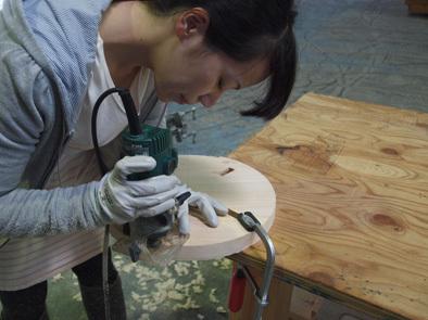 DIY学校上級コース『スツール』完成!!_b0211845_10580941.jpg