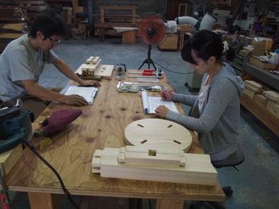 DIY学校上級コース『スツール』完成!!_b0211845_10581070.jpg