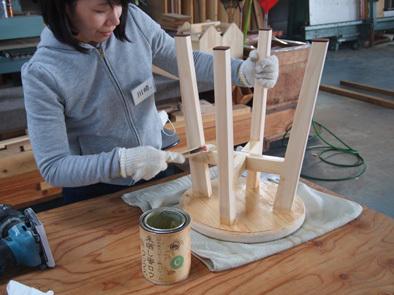 DIY学校上級コース『スツール』完成!!_b0211845_11000717.jpg