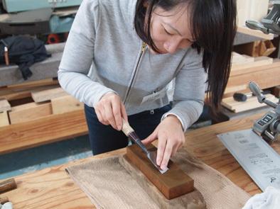 DIY学校上級コース『スツール』完成!!_b0211845_11000876.jpg