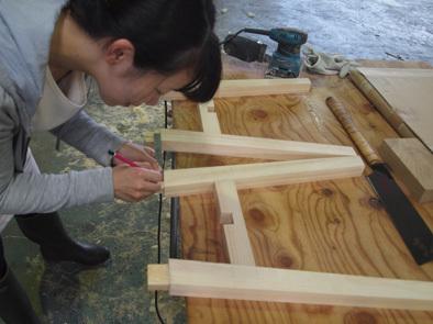 DIY学校上級コース『スツール』完成!!_b0211845_11083968.jpg