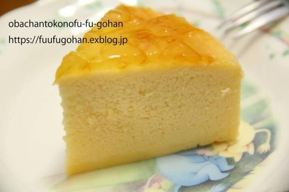 ふわっふわのチーズスフレケーキ~(^^♪_c0326245_11125974.jpg