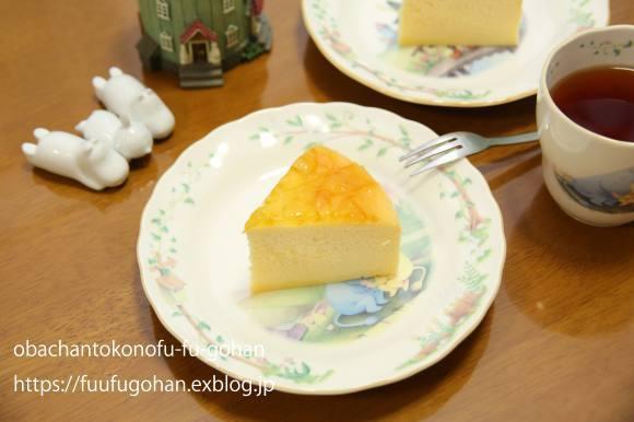 ふわっふわのチーズスフレケーキ~(^^♪_c0326245_11131915.jpg