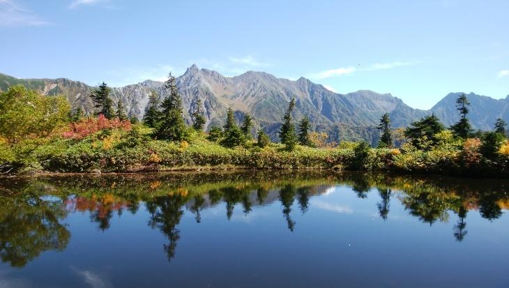 秋の北アルプス 鏡平から西鎌尾根を経て槍ヶ岳へ_e0231387_20445132.jpg
