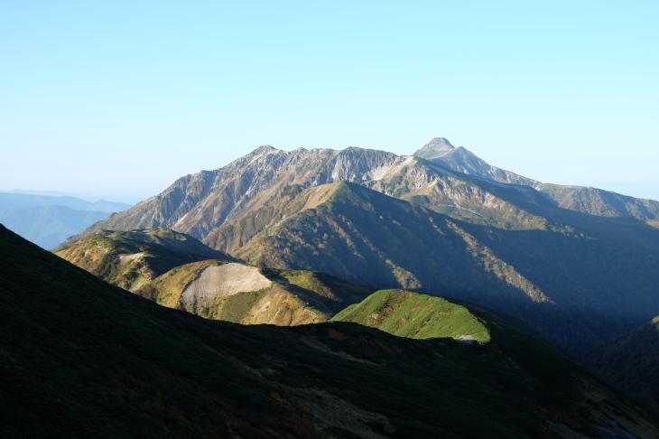 秋の北アルプス 鏡平から西鎌尾根を経て槍ヶ岳へ_e0231387_20515174.jpg