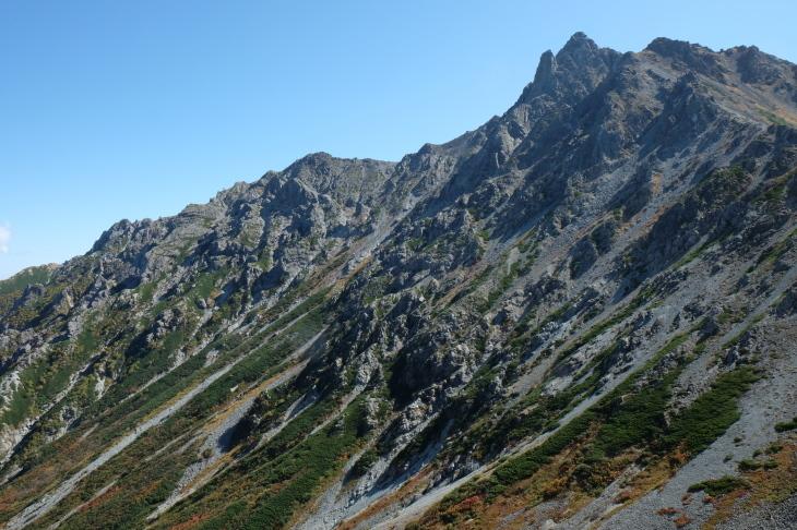 秋の北アルプス 鏡平から西鎌尾根を経て槍ヶ岳へ_e0231387_21001716.jpg