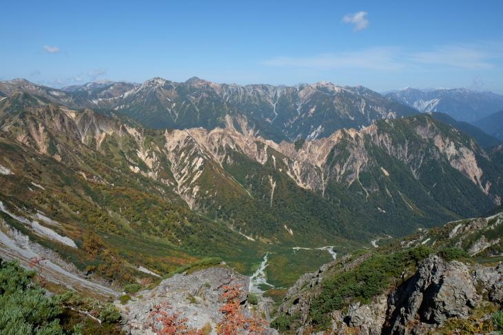秋の北アルプス 鏡平から西鎌尾根を経て槍ヶ岳へ_e0231387_21011971.jpg