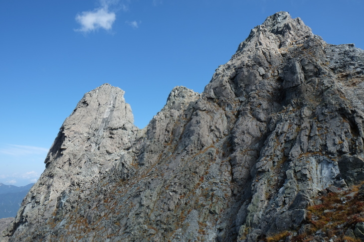 秋の北アルプス 鏡平から西鎌尾根を経て槍ヶ岳へ_e0231387_21035140.jpg