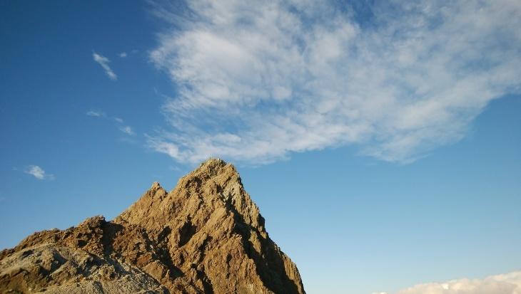秋の北アルプス 鏡平から西鎌尾根を経て槍ヶ岳へ_e0231387_21142812.jpg