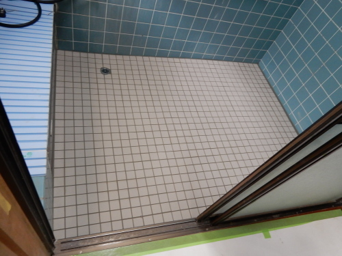 介護保険住宅改修 浴室タイル_d0130212_19205624.jpg