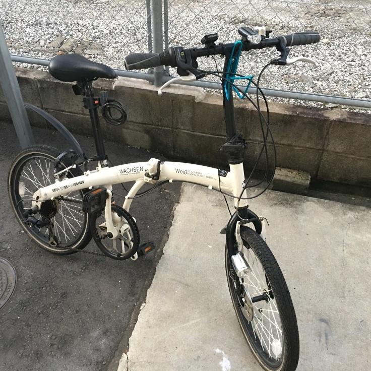 20インチフォールディングバイクに外装式オートライトを_b0060239_19581101.jpg