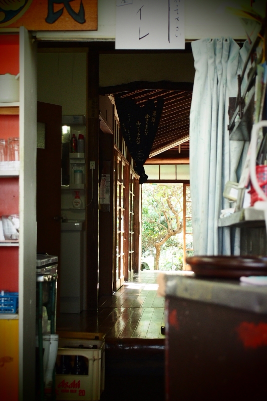 閉店:【あの孤独のグルメの】源氏食堂@大原 ブタ肉塩焼きライス&ミックスフライ_b0008655_11004877.jpg