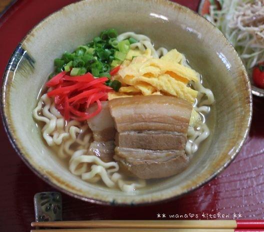 鶏むね肉の塩麹ソテー ✿ 三枚肉そば(๑¯﹃¯๑)♪_c0139375_1122921.jpg