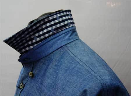 ダンガリ ブルーパッチワークシャツ_a0110103_10591938.jpg