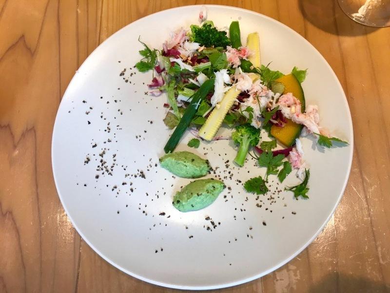 """上野: フランス料理 \""""RESTAURANT à la Quiétude レストラン ア ラ キエチュード\""""_b0246303_15552907.jpg"""