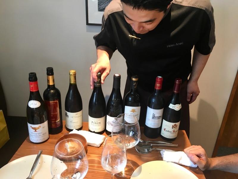 """上野: フランス料理 \""""RESTAURANT à la Quiétude レストラン ア ラ キエチュード\""""_b0246303_15562108.jpg"""
