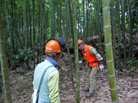 「孟宗1本、真竹は2本」県民参加の森林づくり事業で違い明確_c0014967_1739967.jpg