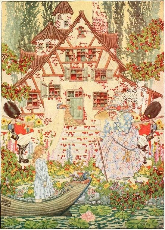 Dugald Stewart Walker画の雪の女王_c0084183_1213016.jpg