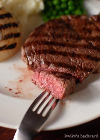 しましまステーキとしましま玉ねぎ_b0253205_15435118.jpg