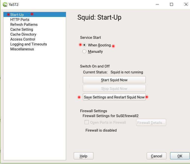 SUSE Linux 12 (SLES12 sp3) で YaST から Squid3 を導入、設定_a0056607_12264319.jpg