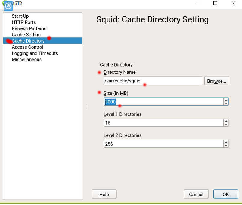 SUSE Linux 12 (SLES12 sp3) で YaST から Squid3 を導入、設定_a0056607_12281144.jpg