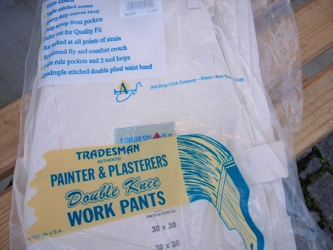 TRADESMAN PAINTER PANTS (ACE DROP)_d0334060_17234160.jpg