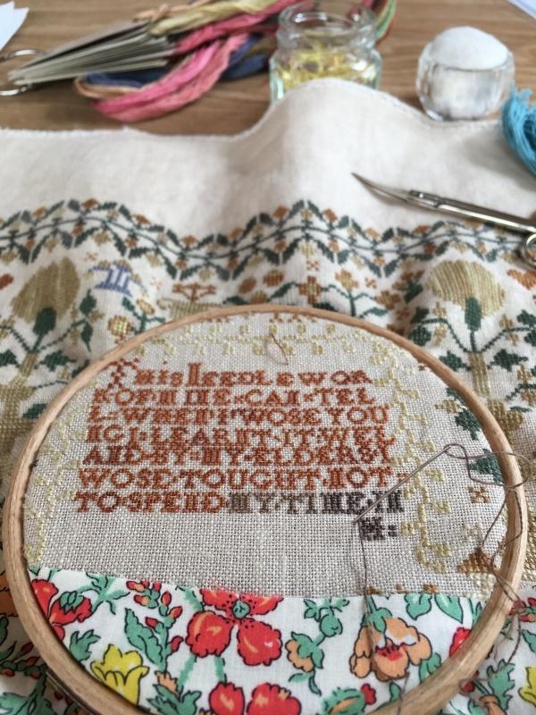 Elizabeth Sarah Oliver 1842 と キット作り_a0374562_14445752.jpg