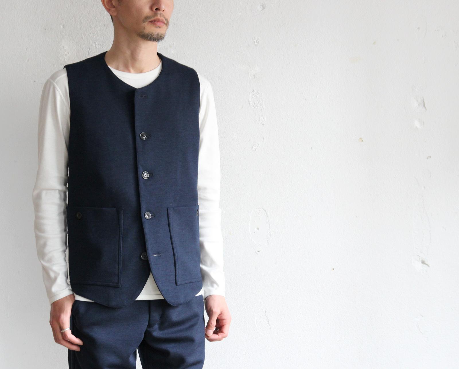 Dress Wool Knit Tailor Vest_c0379477_20103730.jpg