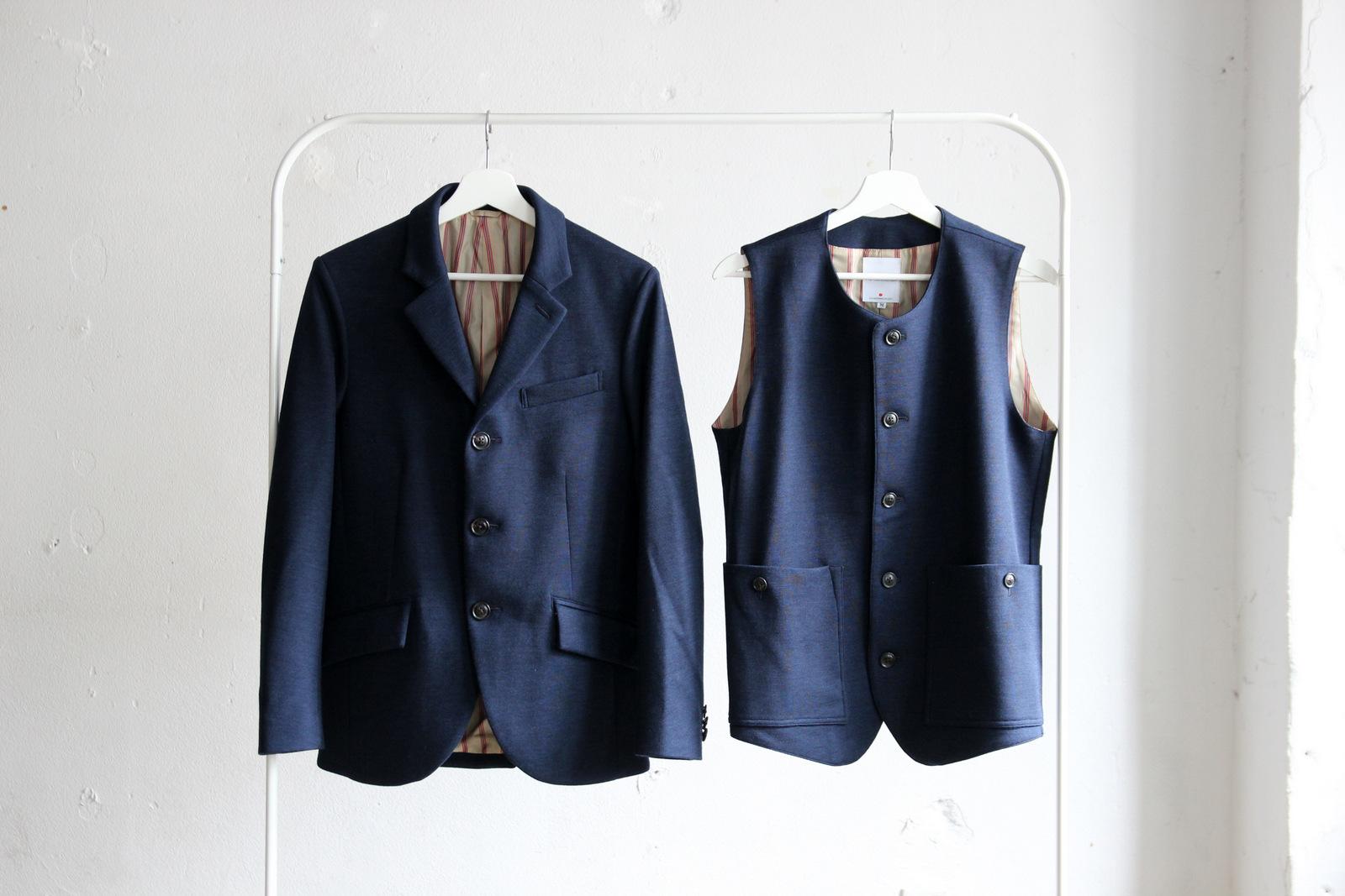 Dress Wool Knit 3B Jacket_c0379477_20195282.jpg