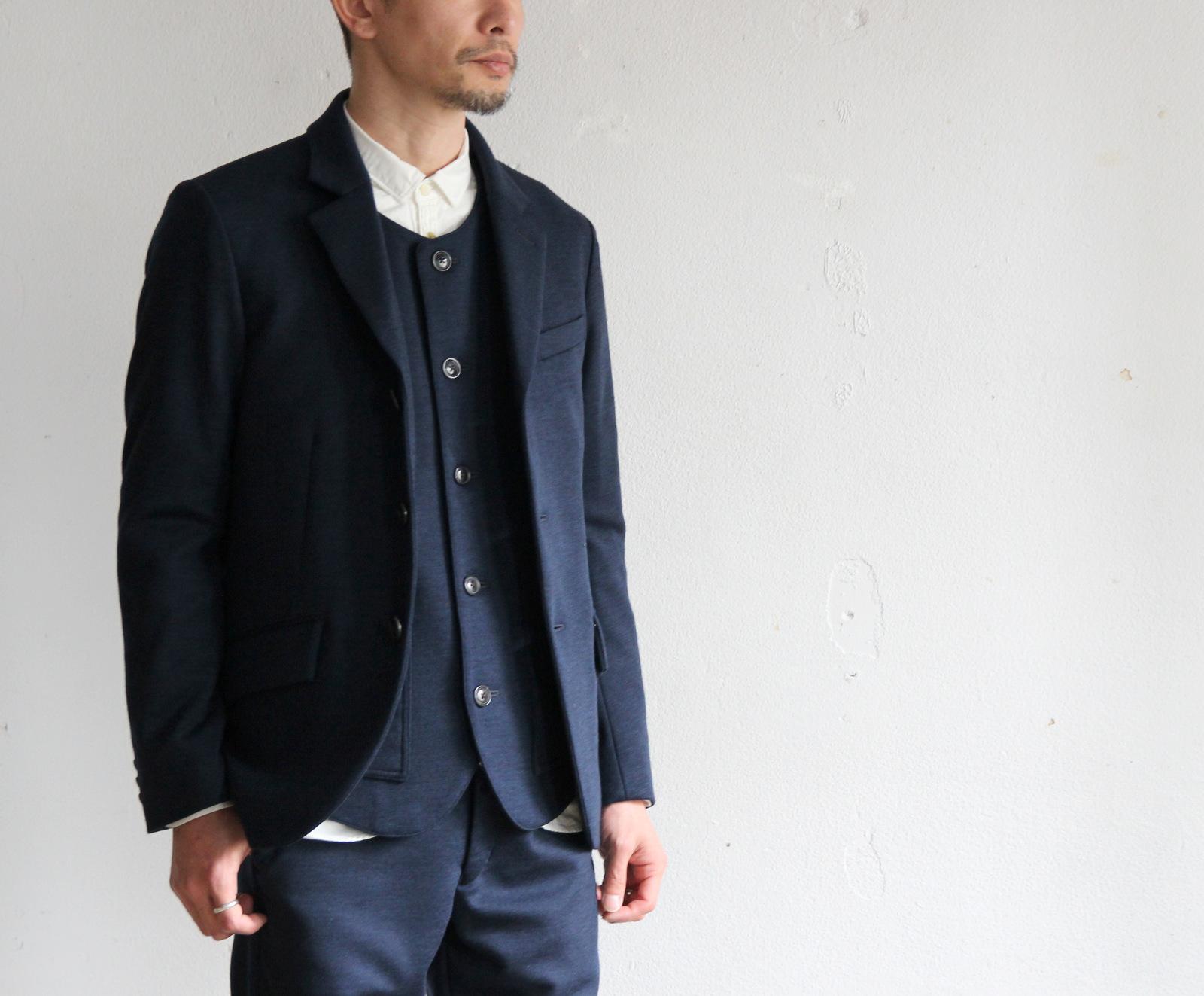 Dress Wool Knit 3B Jacket_c0379477_20201505.jpg