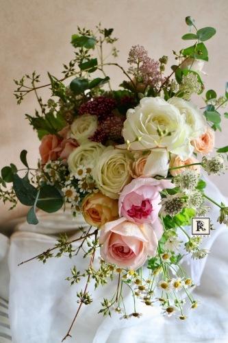 Wedding bouquet & flower Mさま 2017.9.30 Natural Garden _c0128489_19531207.jpg