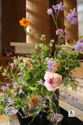Wedding bouquet & flower Mさま 2017.9.30 Natural Garden _c0128489_19533444.jpg