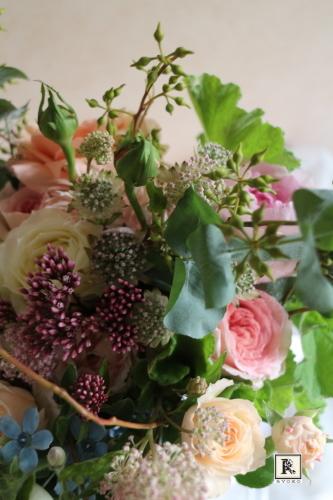 Wedding bouquet & flower Mさま 2017.9.30 Natural Garden _c0128489_19535864.jpg