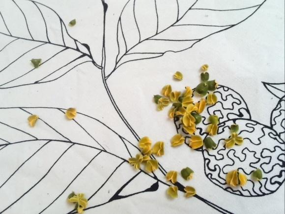 楽しくって美しくって感動! 初めて作った生花のリース♡_f0340942_21520002.jpg